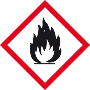 Gefahrensymbol: Flamme