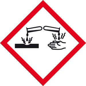 Gefahrensymbol: Ätzwirkung