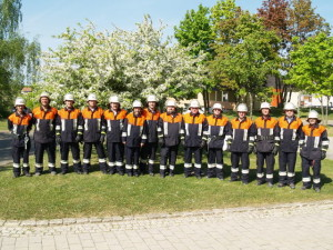 Gruppenfoto Löschgruppe St. Josefs Stift (April 2007)