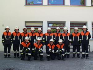 Gruppenfoto Löschgruppe St. Josefs Stift